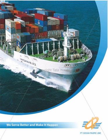 Desain Company Profile Perusahaan Ekspedisi Maritim Oleh Tata Warna