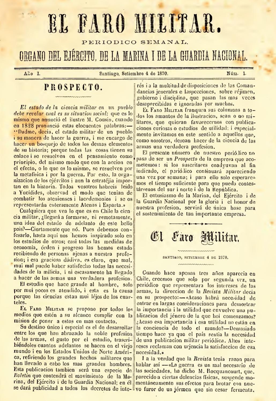 El Faro Militar by Rodolfo Manzo - issuu