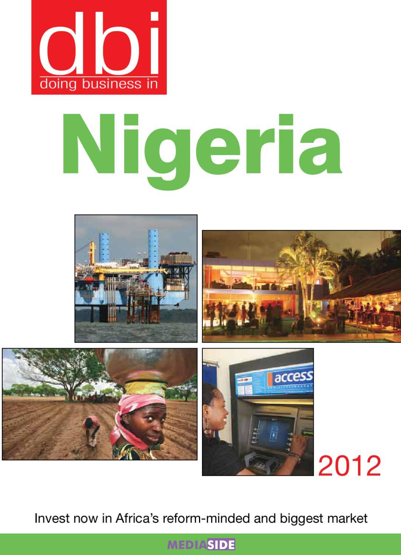 Dbi Nigeria By Rohit Juneja Issuu
