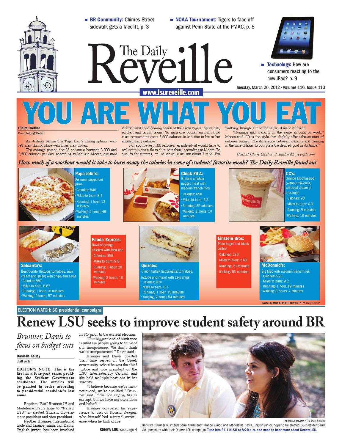 f80d1511a The Daily Reveille - March 20