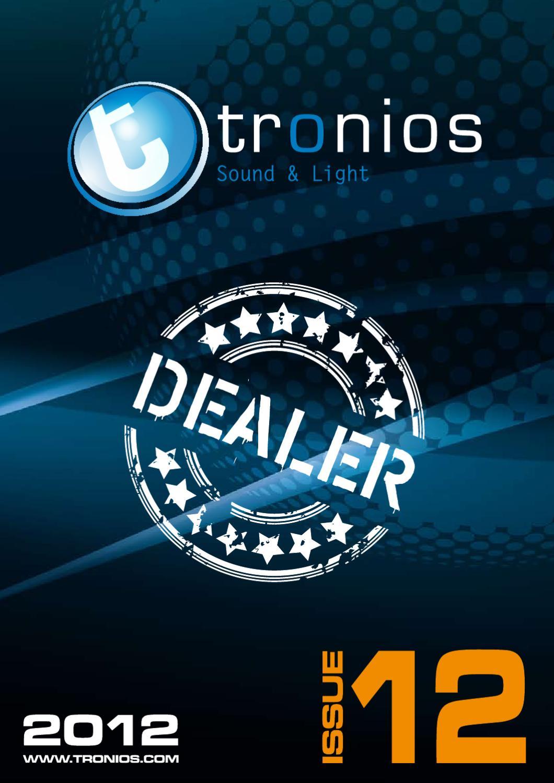 Sound Light Catalogus 2012 English By Tronios Bv Issuu Sixled Bar Power Indicator Electronic Circuits