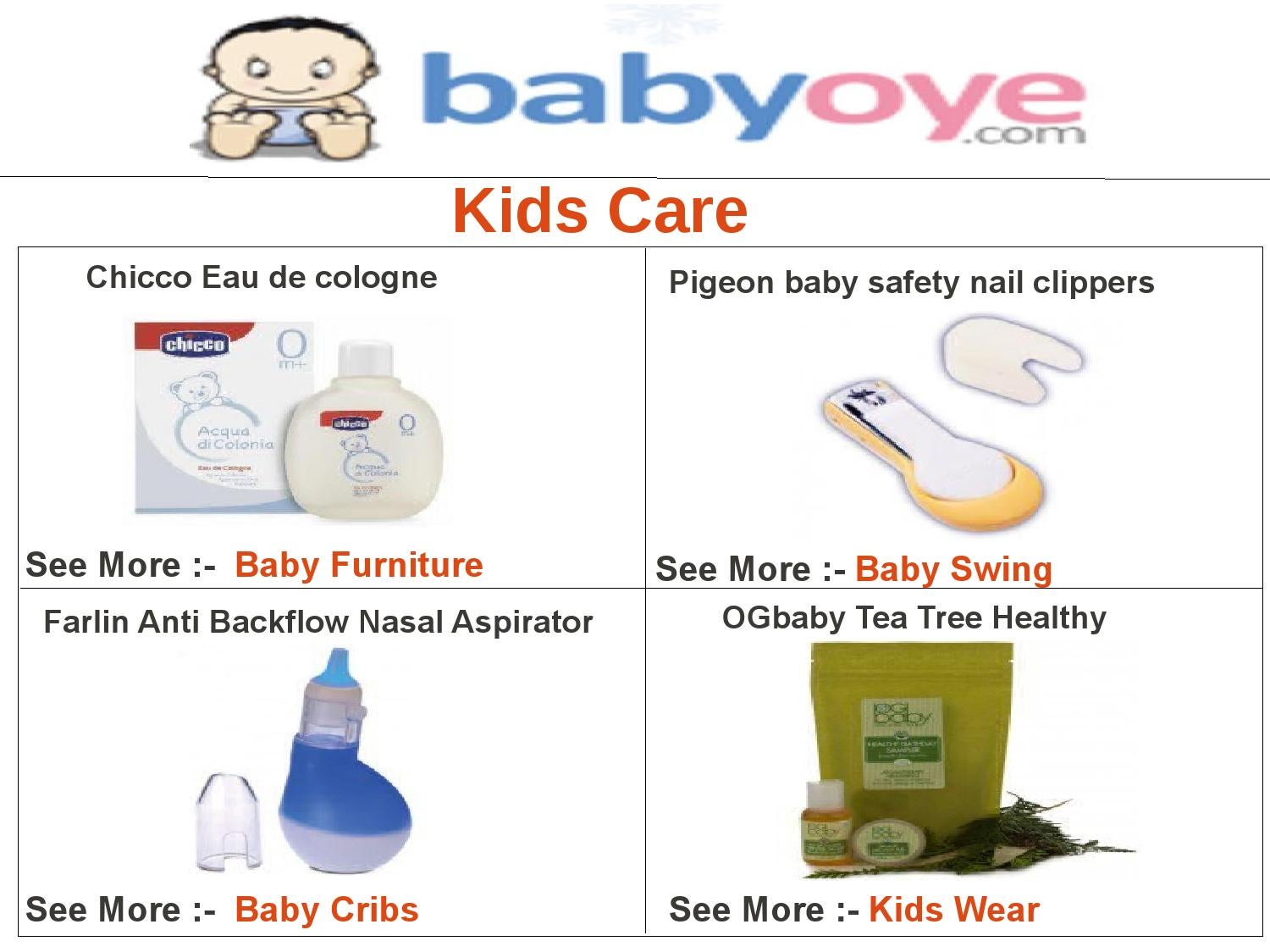 Kids Care By Babyoye Team Issuu Pigeon Baby Nail Clipper