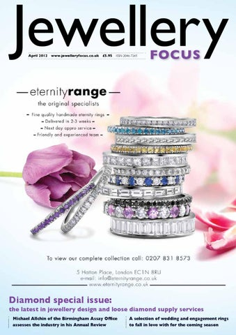 1d51ea28a Jewellery Focus April 2012 by Mulberry Publications Ltd - issuu