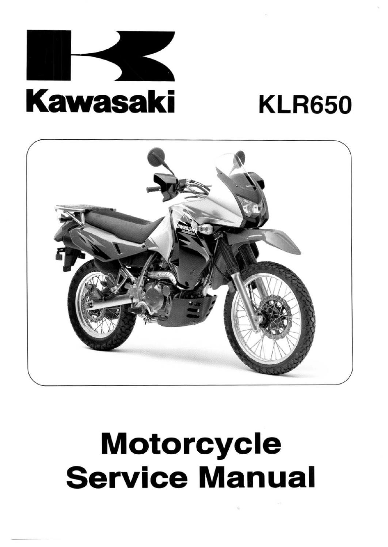 Kawasaki Klr 250 Service manual Free Download