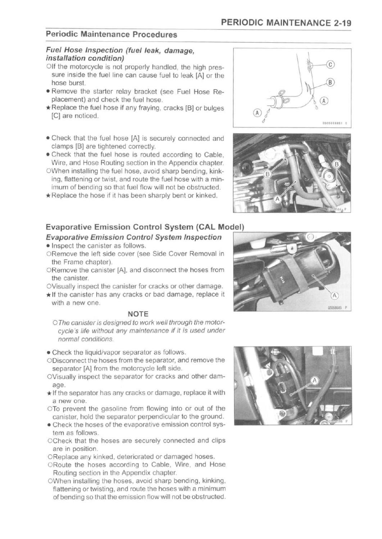 KLR 650 2008 Service Manual by Alberto Rivera - issuu