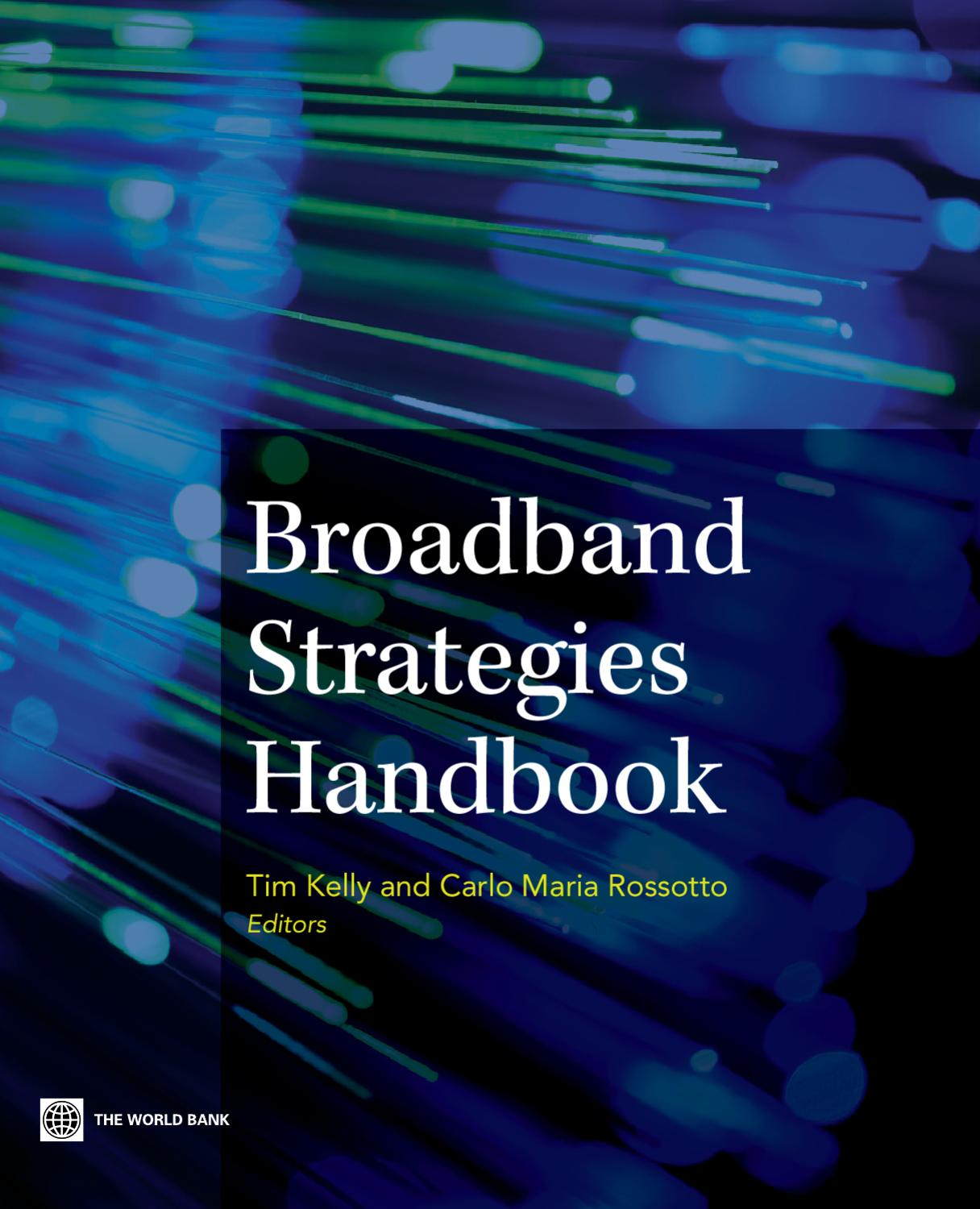 Broadband Strategies Handbook By World Bank Publications Issuu Moreover Outside Phone Box Wiring For Dsl Besides Nid