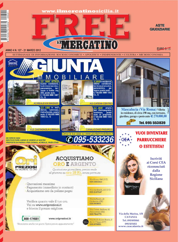 Free n° 127 del 21-03-2012 by Il Mercatino - issuu f6efb20107f
