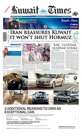21 Mar 2012 By Kuwait Times Issuu