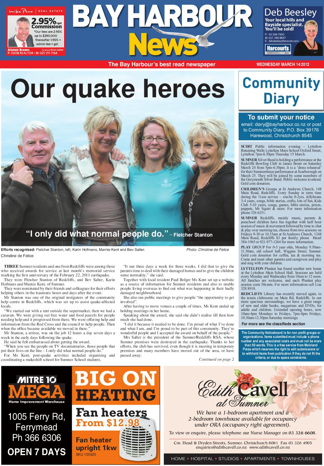 Bay Harbour News by Mainland Press - issuu