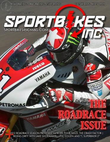 SportBikes Inc Magazine March 2012 (Volume 2 13b2d524124