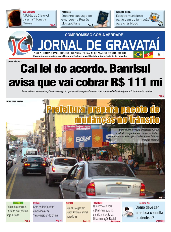 ac0818c38 Jornal de Gravataí 21032012 by Jornal de Gravataí - issuu