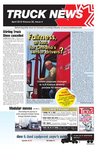 Truck News April 2012 by Annex Business Media - issuu on