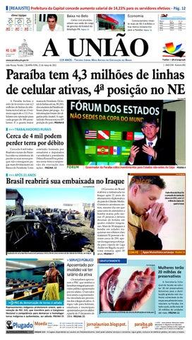 jornal A união by Jornal A União - issuu 2b81d3e7135dd