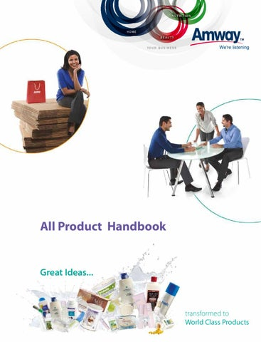 online booking amway products