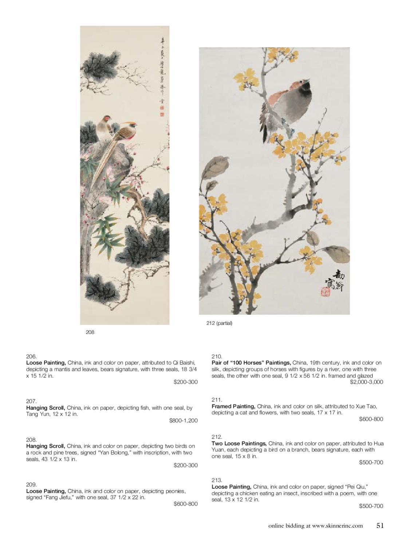 Asian Works of Art | Skinner Auction 2591B by Skinner, Inc