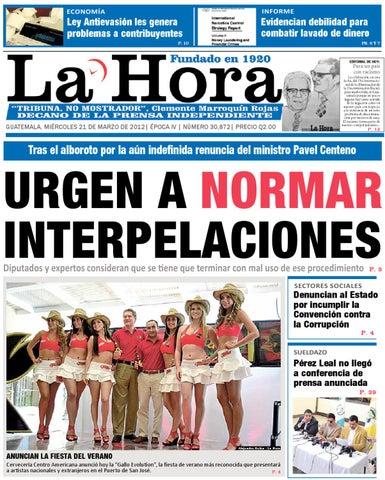 Diario La Hora 21 03 2012 By La Hora Issuu
