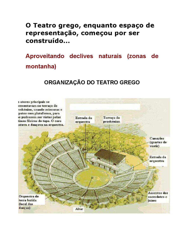 Teatro grego by Mónica Camacho - issuu