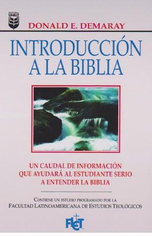 Introducción A La Biblia By Patricia Torrelio Issuu