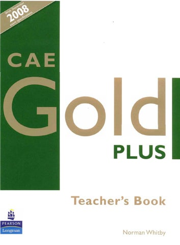 CAE Gold Plus by Melina Dionisi - issuu