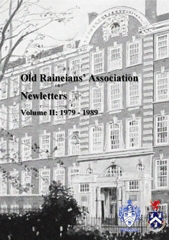 old raineiansa x20ac x2122 association newletters volume ii 1979 1989