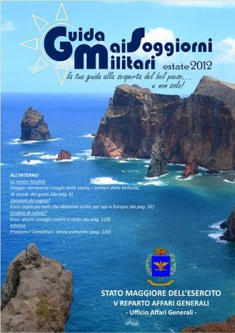 Guida ai Soggiorni Militari Ed. estiva 2012 by federico gamboni - issuu