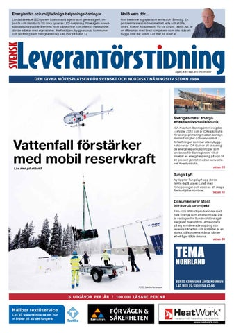 Svensk Leverantörstidning nr-1 2012 by Hexanova Media Group AB - issuu 84a82e4ec9d70