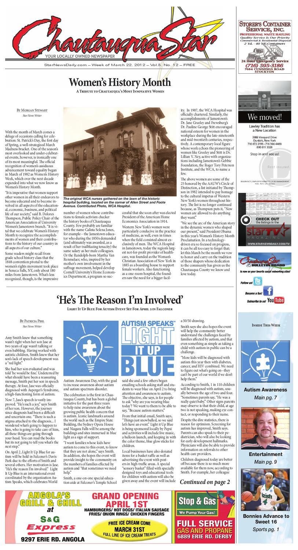 March 22, 2012 Chautauqua Star by The Chautauqua Star - issuu