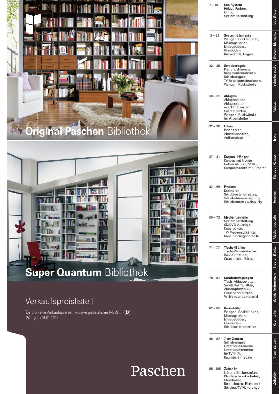 paschen typenliste super quantum bibliothek by christian bahlinger issuu. Black Bedroom Furniture Sets. Home Design Ideas