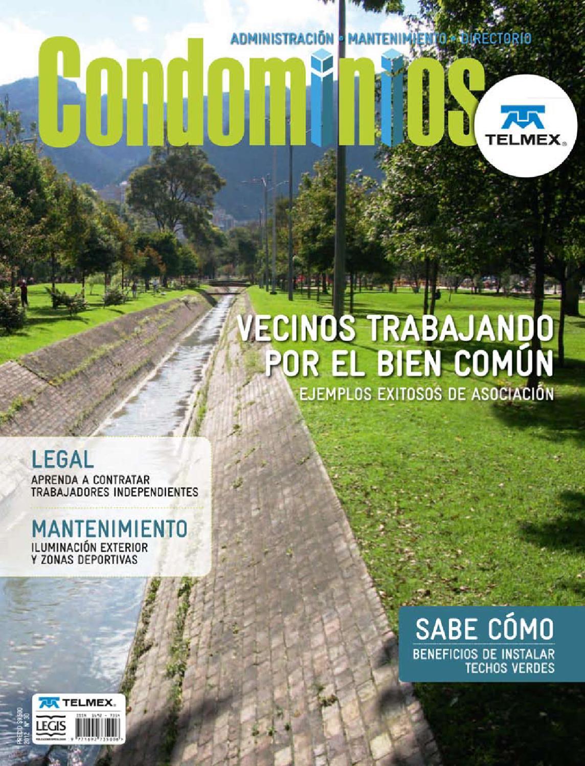 Revista Condominios Edicion 30 by Hugo Martínez - issuu