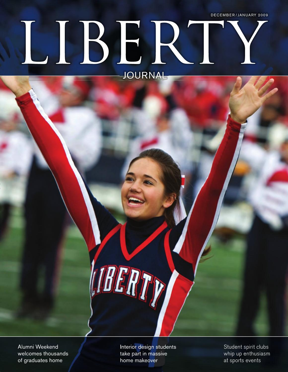 Liberty Journal December January 2009 by Liberty University - issuu b21222739