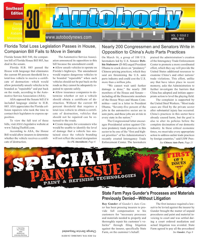 autobody news april 2012 southeast edition by autobody news issuu