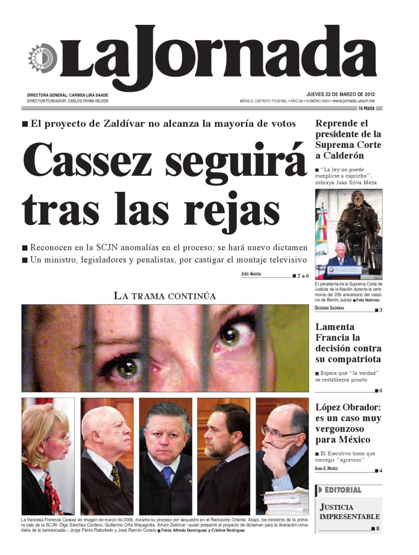 La Jornada, 03/22/2012 by La Jornada - issuu