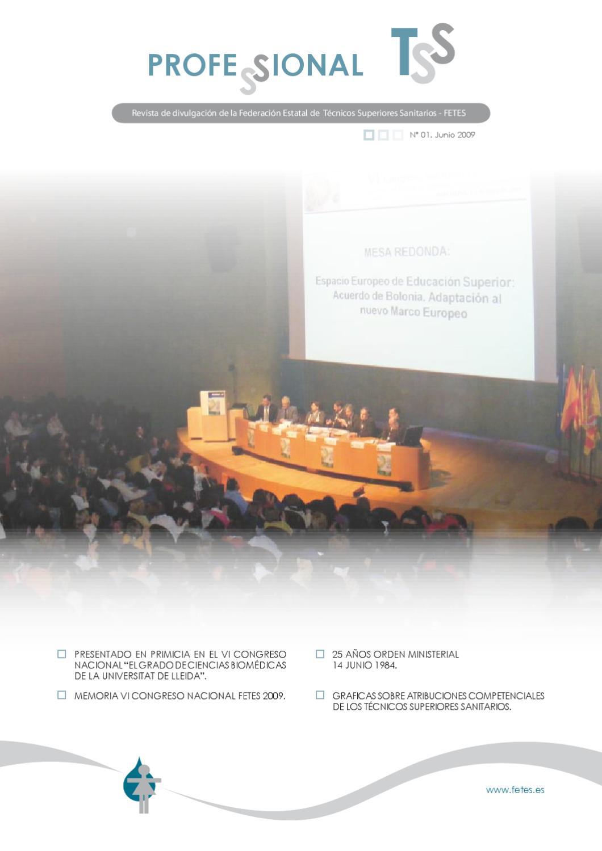 PROFESSIONAL TSS by Fesitess Cataluña Sanitarios - issuu