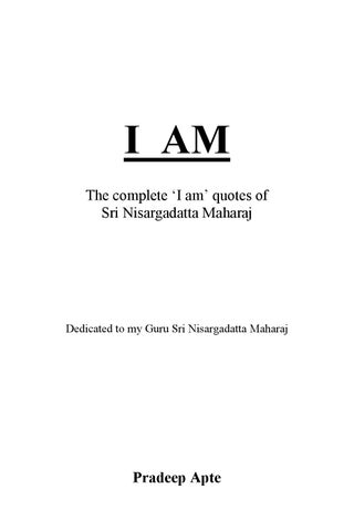 the ultimate medicine nisargadatta maharaj pdf