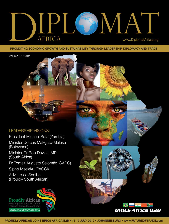 DIPLOMAT Africa - Volume 3 by Sven Boermeester - issuu