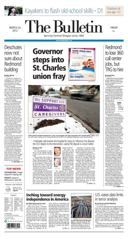 Bulletin Daily Paper 03/23/12 by Western Communications, Inc ...