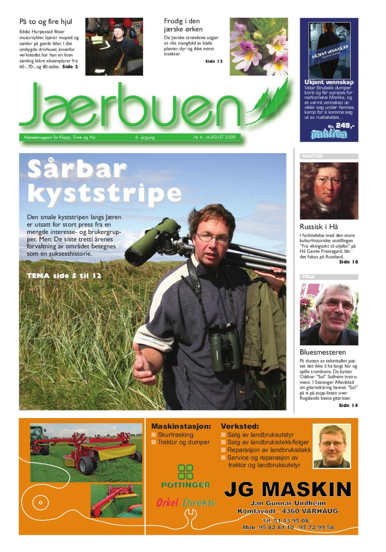 422ec398e Jærbuen nr 6-2009 by Tom Gaudland - issuu