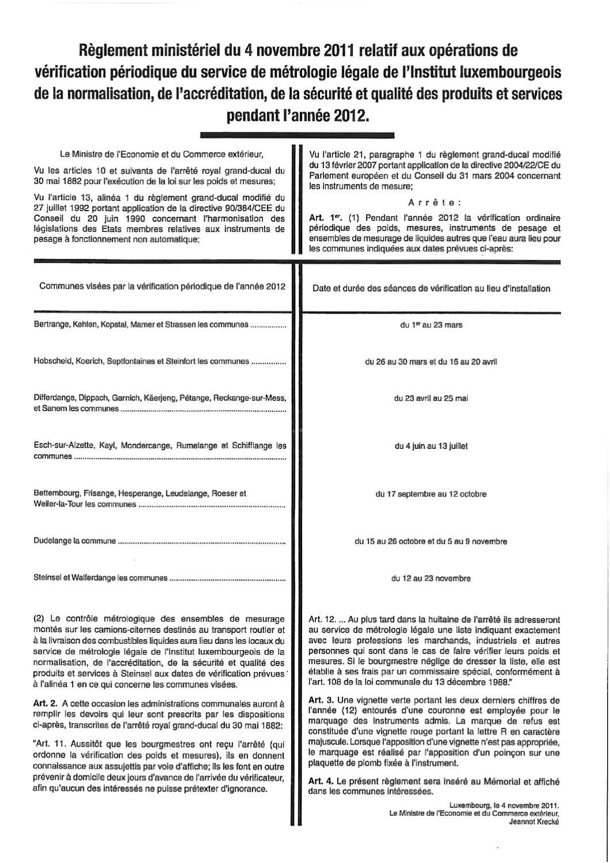 Règlement Service Métrologie By Claude Hastert Issuu