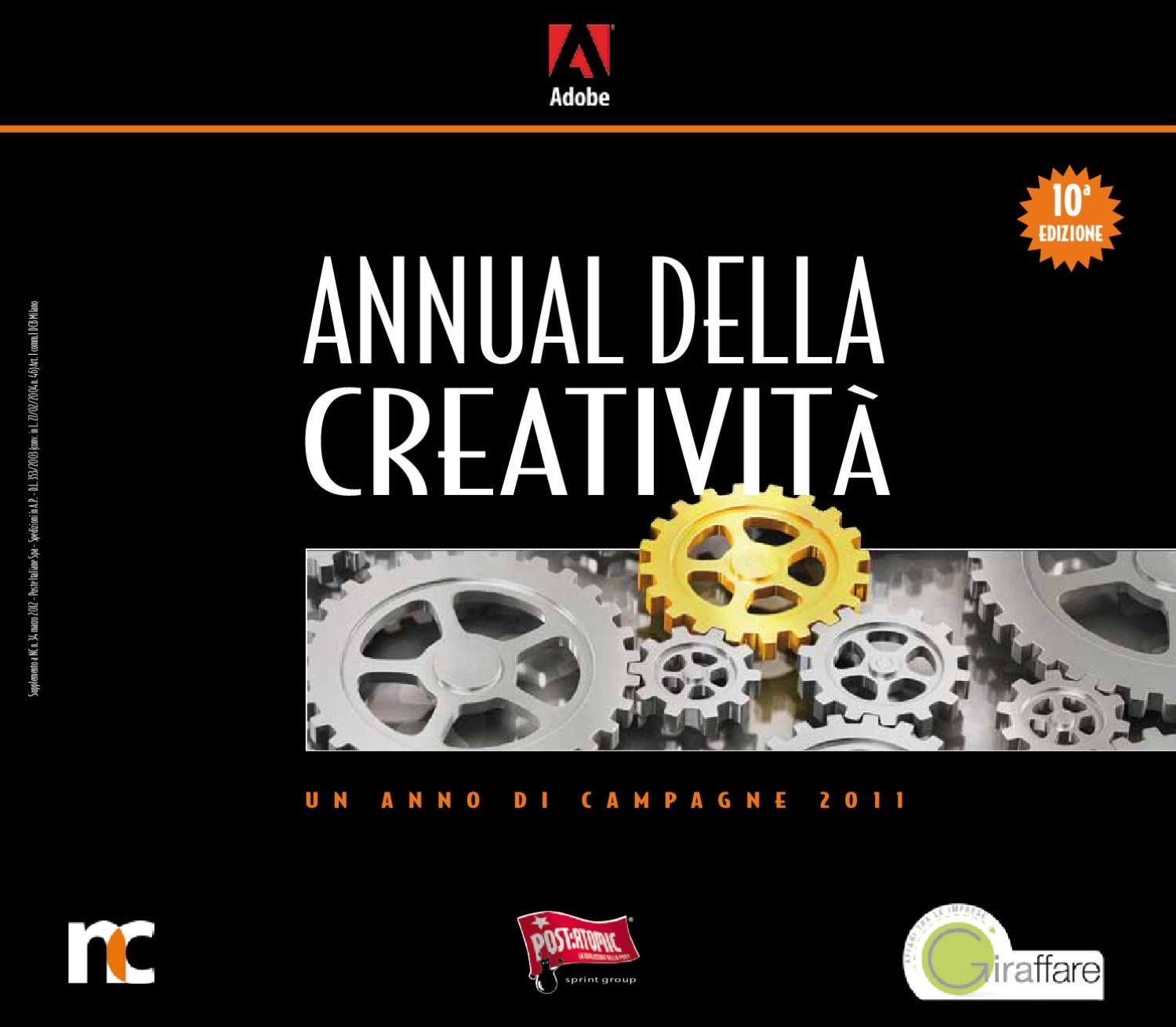 detailed look 25d6a 15203 Annual della Creatività 2012 by ADC Group - issuu