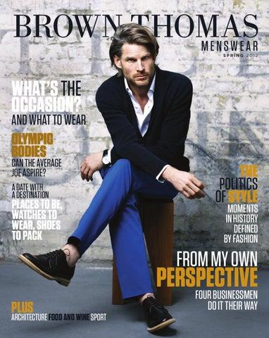 fabfe40cf9 Brown Thomas Menswear Magazine by brownthomas - issuu