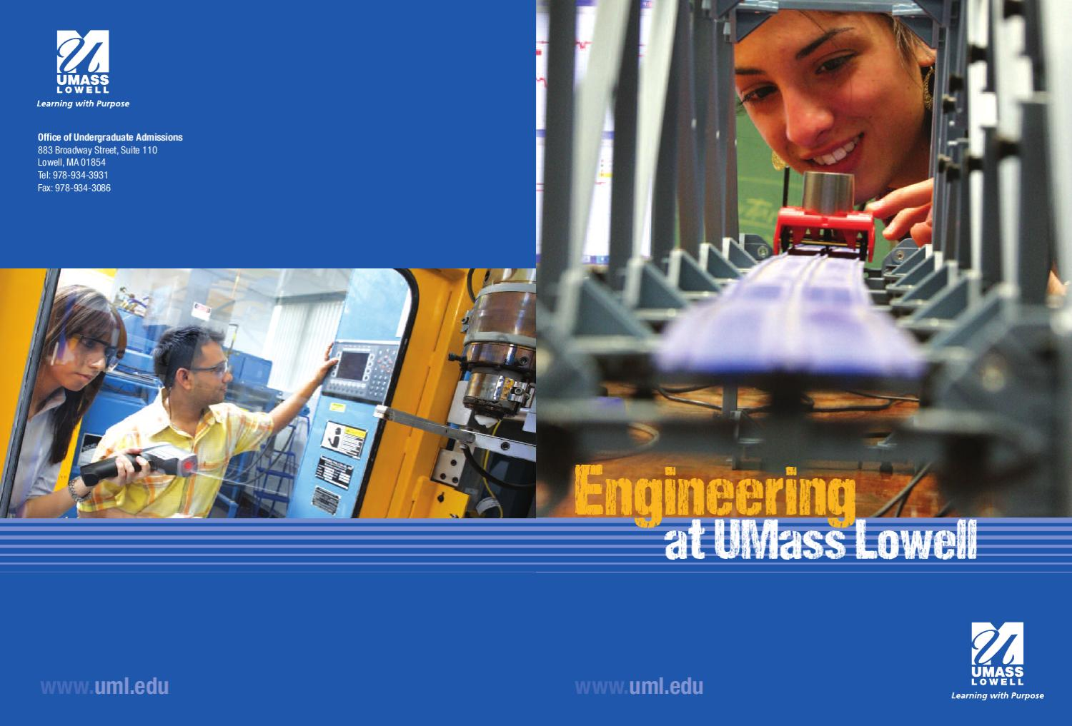 Francis College of Engineering by UMass Lowell - issuu