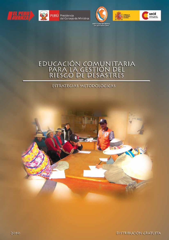 Estrategias Metodologicas Para La Educacion Comunitaria En Gestion De Riesgos By Julian Rivas Issuu