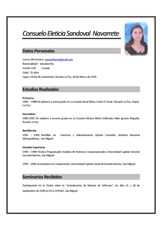 Encantador Currículum Para Programador Interno Friso - Colección De ...