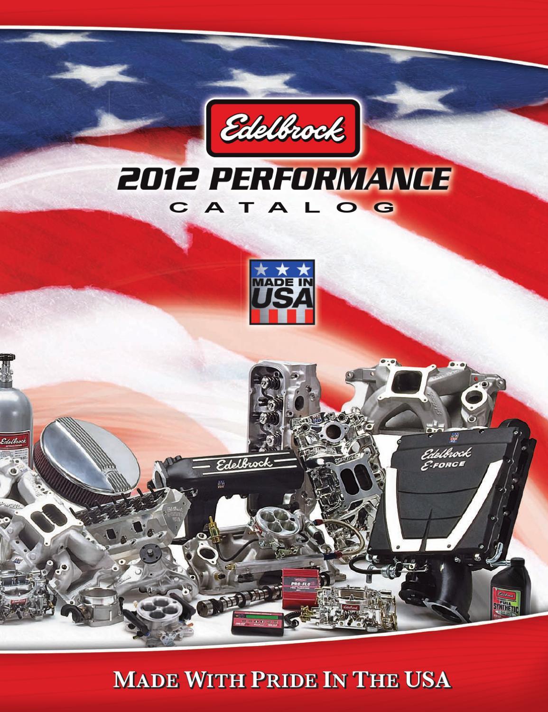 Edelbrock Catalog for Power Brake TV by Power Brake - issuu