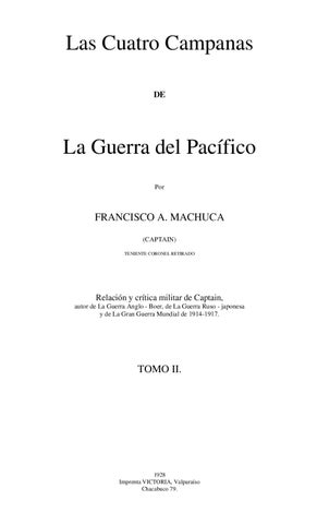 6e576371c Las Cuatro Campañas de la Guerra del Pacífico (2) by Rodolfo Manzo ...