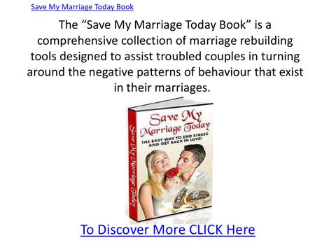 how to save my marriage books