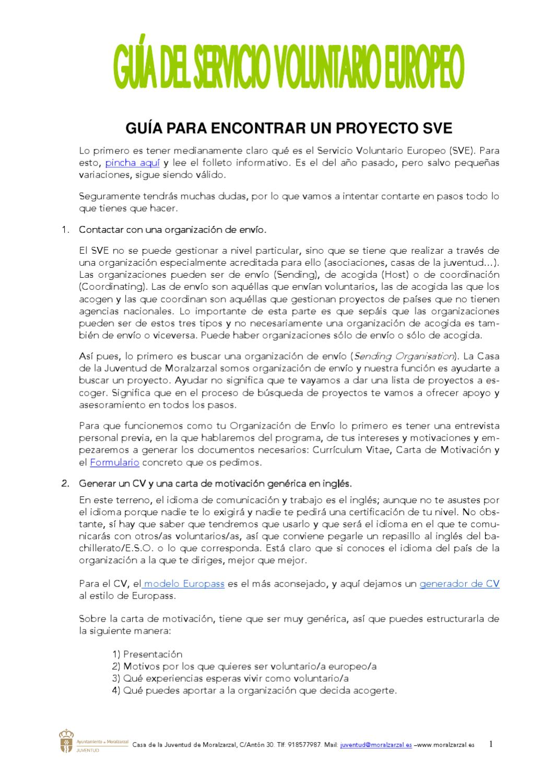 Fantástico Curriculum Vitae De Programa De Juventud Componente ...