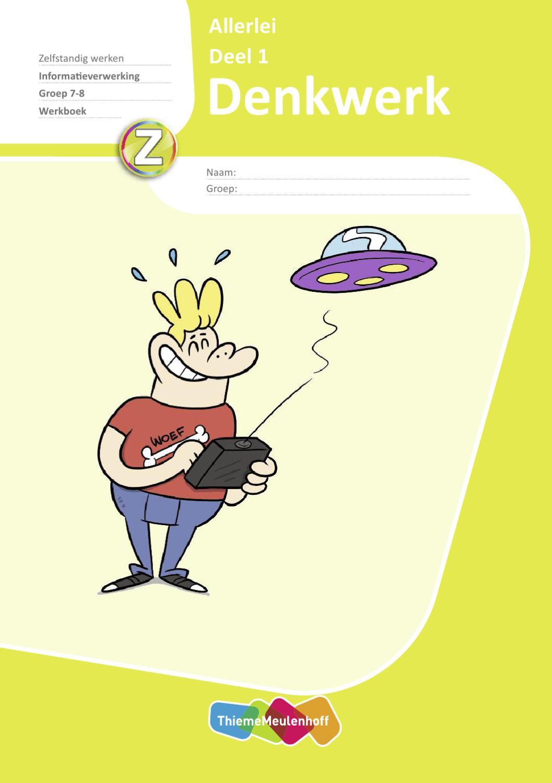Uitgelezene 9789026227394 Denkwerk Allerlei deel 1 Werkboek groep 7-8 by YJ-64
