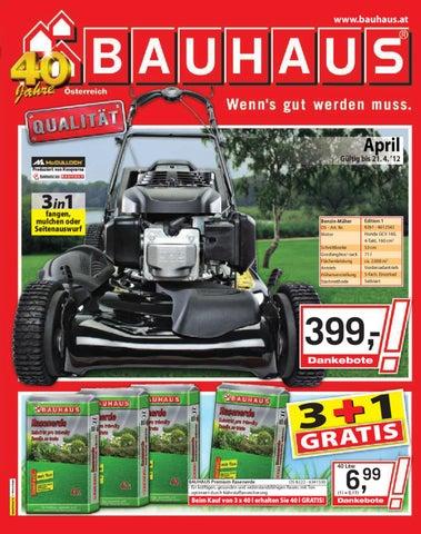 Trittsteine Bauhaus bauhaus prospekt 25 03 21 04 2012 by aktionsfinder gmbh issuu