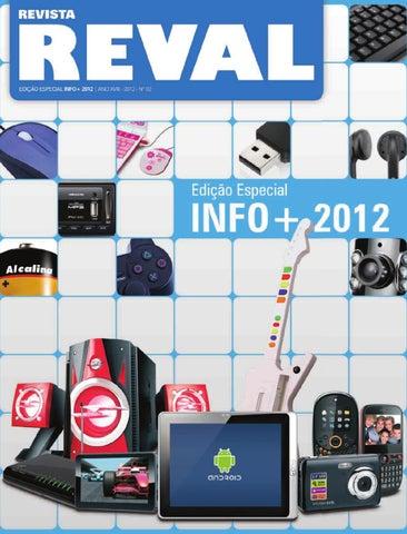 15891c69d27 Revista Reval Info+ 2012 by Reval Atacado de Papelaria Ltda. - issuu